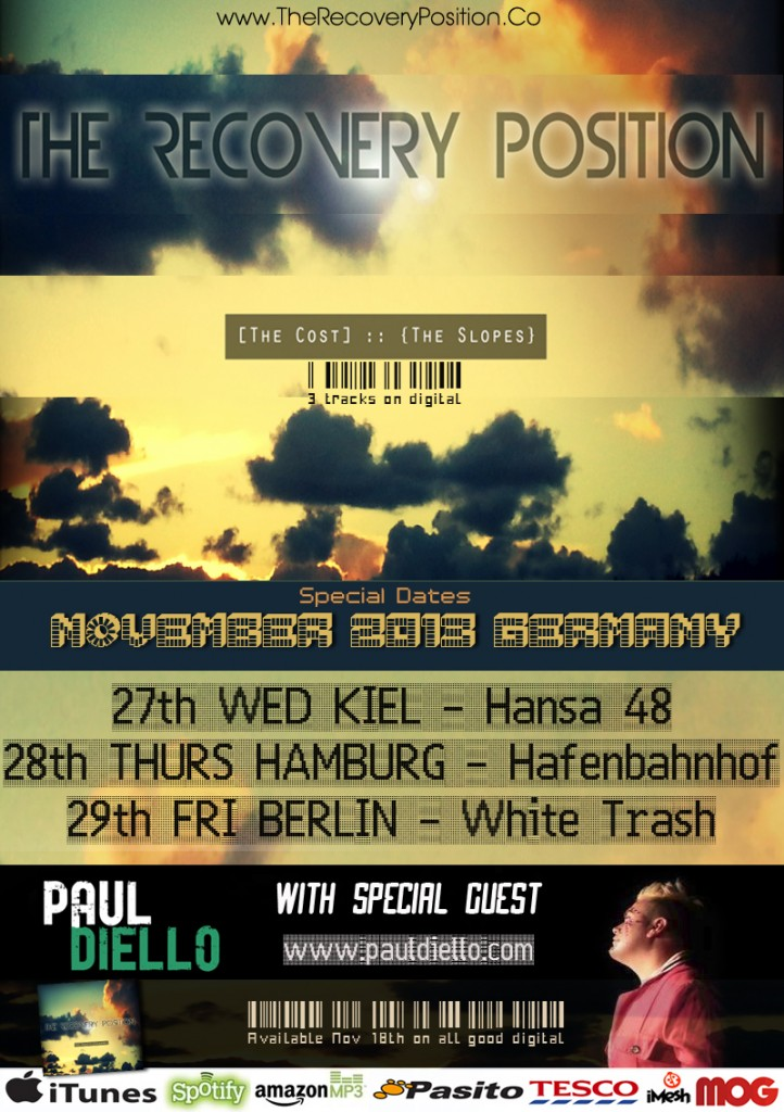 The-Cost-Tour-Poster-Germany 2013